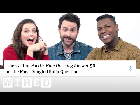 Pacific Rim Uprising Cast Answer 50 of the Most Googled Kaiju Questions  WIRED