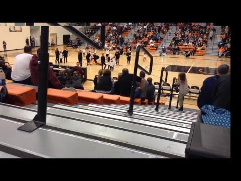 Bismarck High School Basketball vs Williston Coyotes 12-15-17