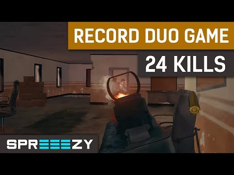 24 Kills | NEW RECORD | PUBG Duo Game #7