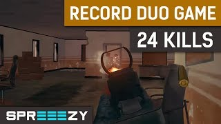 24 Kills | NEW RECORD | PUBG Duo Game #7
