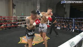 Muay Thai - Toby Smith vs Jakub Benko, Rebellion Muay Thai, 18.8.18.