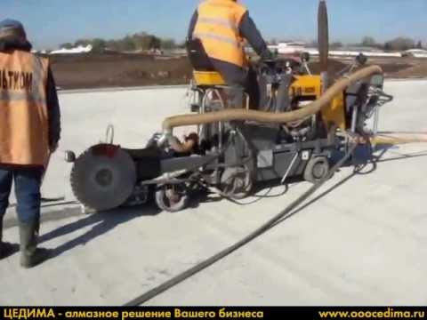 Швонарезчик CEDIMA CF-6020 и Сепаратор бетонного шлама CBS-1500