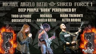 "Michael Angelo Batio ""Burn"" w/ Mark Tremonti (Alter Bridge) & Todd LaTorre (Queensryche) [AUDIO]"