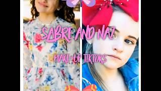 Sabre and Naz Norris Make-up Tiktoks Compilation