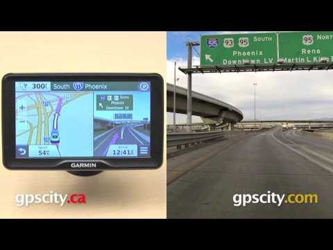Garmin nuvi 2797LMT: photoReal Junction View Street Sign Comparison