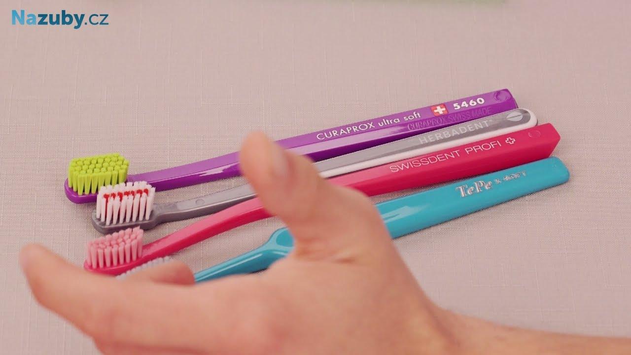 Jak vybrat správný zubní kartáček