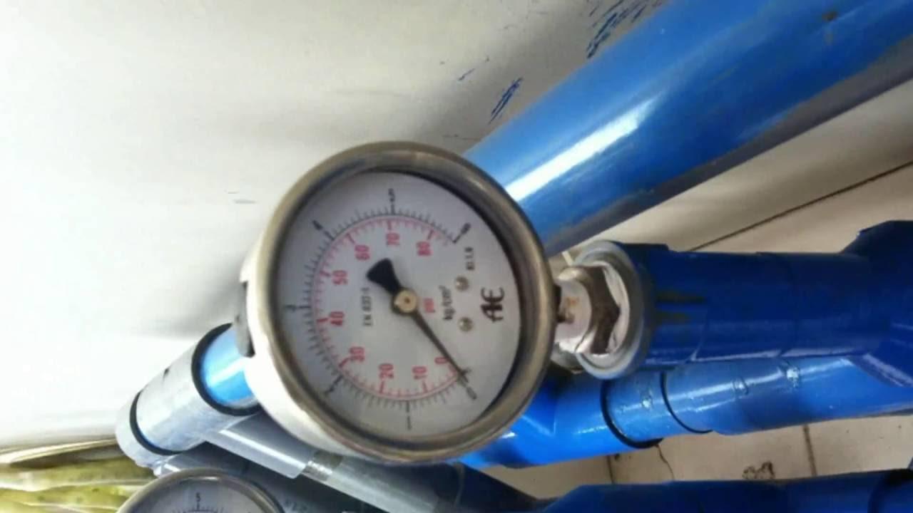 cara mengisi presure water tank