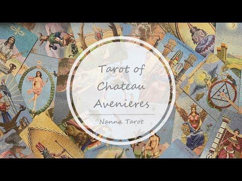 開箱  法國古堡塔羅牌 • Tarot of Chateau Avenieres // Nanna Tarot