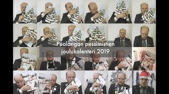 Puolangan pessimistien joulukalenteri 2019 (kaikki luukut)