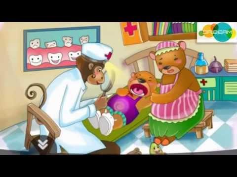 Cùng bé chăm sóc răng   Câu chuyện Gấu con bị sâu răng   DR BEAM 124 Xã Đàn