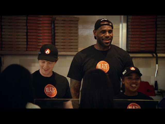 489577c5a17f LeBron James made  35 million investing in Blaze Pizza