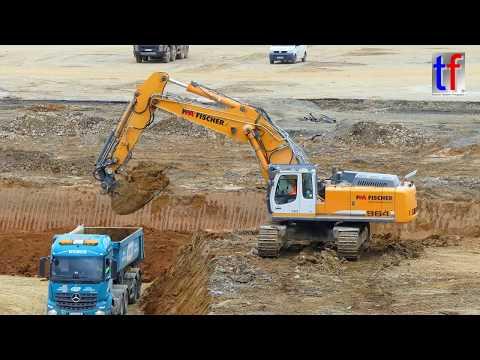 **HUGE** LIEBHERR R 964C Excavator / Bagger im Einsatz, Germany, 2017 #2