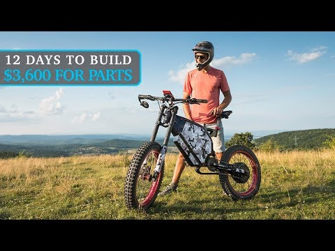 Build $3600 DIY Electric Bike That Rides 110km/h - How To Guide And Parts List Promotion