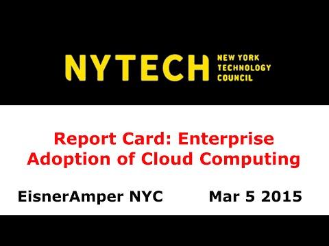 NYTECH Enterprise Adoption of Cloud Computing