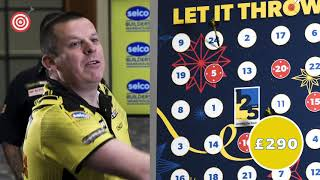 Selco Builders Warehouse - Lęt It Throw - Gary Anderson and Dave Chisnall