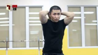 Упражнения с гирей. Level 1