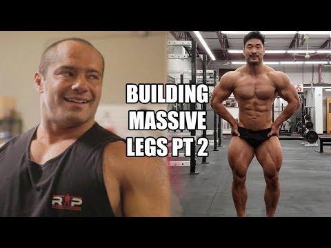 How To Build MASSIVE Legs Ft Mike Israetel RP Strength PT 2 (Full Leg Workout)