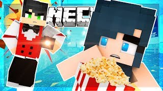 Minecraft - I CAN'T BELIEVE I GOT KICKED OUT OF THE MOVIE THEATER!! (Minecraft Roleplay)