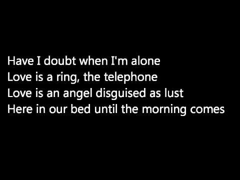 Patti Smith 'Because the Night' lyrics