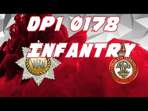 Canadian Army Infantry DP1 0178