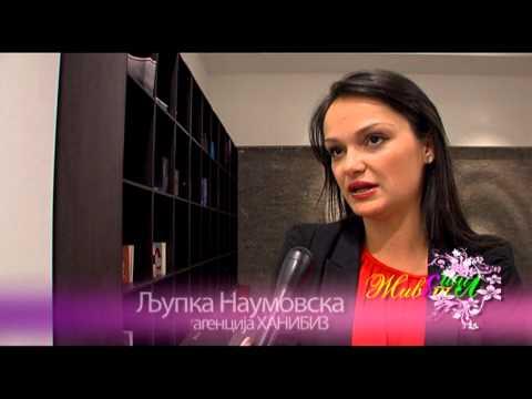 ZIVOT SO STIL - MARJANA STANOJKOVSKA 19.01.2013 (SNIMENO VO HOTEL SIRIUS - SPA I WELLNESS)