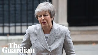 Theresa May makes statement after Tory MPs trigger vote of no confidence – watch live