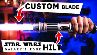 How to UPGRADE / MOD / CUSTOMIZE your DISNEY LIGHTSABER! (from Galaxy's Edge)