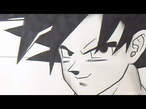 Gut gemocht Comment dessiner Sangoku (Dragon Ball Z) - YouTube QM26
