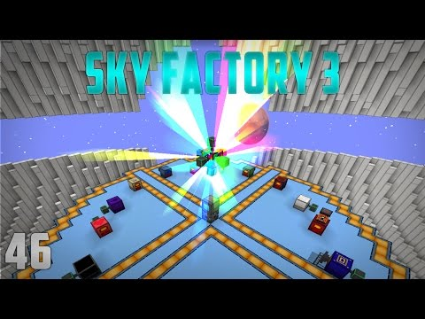 Sky Factory 3 EP46 Rainbow Generator + Tier 8 Draconic Energy Core