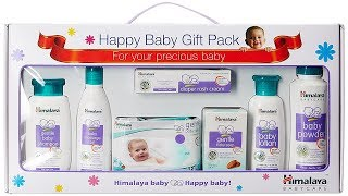 Himalaya Herbals Happy Babycare Gift Pack - Unboxing & Overview