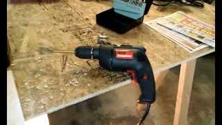 Drillmaster 3/8 In. Variable Speed Electric Drill Review!