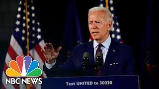 Live: Biden Delivers Remarks on Coronavirus and the Economy   NBC News