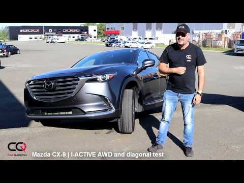 FAIL but WHY? Mazda CX-9 I-ACTIVE AWD vs Diagonal test