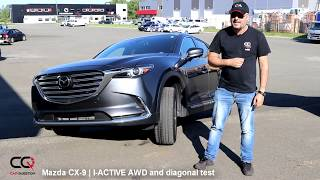 FAIL but WHY? Mazda CX-9 I-ACTIVE AWD vs Diagonal test