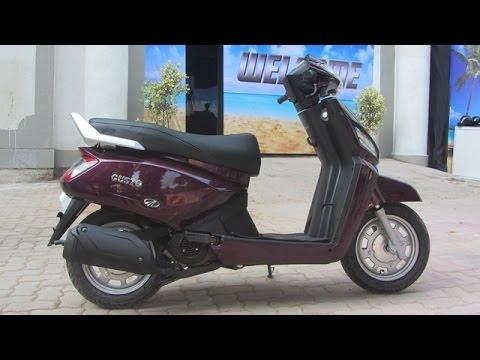 2014 Mahindra Gusto Scooter Walkaround Video Youtube