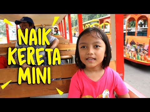 Pixel keliling 'Indonesia' naik Kereta Mini