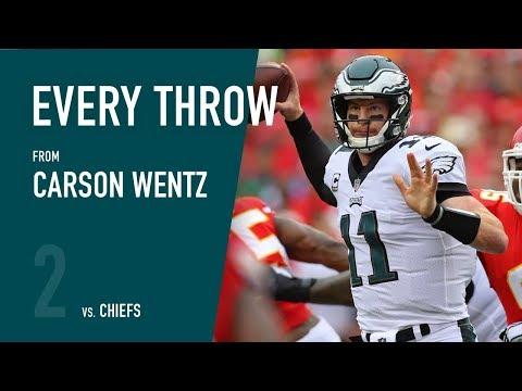 Carson Wentz vs. Kansas City Chiefs (W2, 2017)