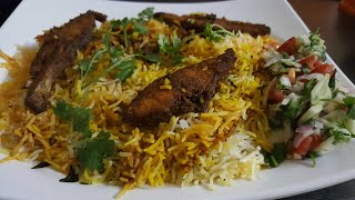 Fish Biryani/ A mouth watering recipe/Bombay Style
