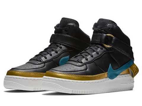 b7f021a63291 Nike Air Force 1 Jester XX High - YouTube