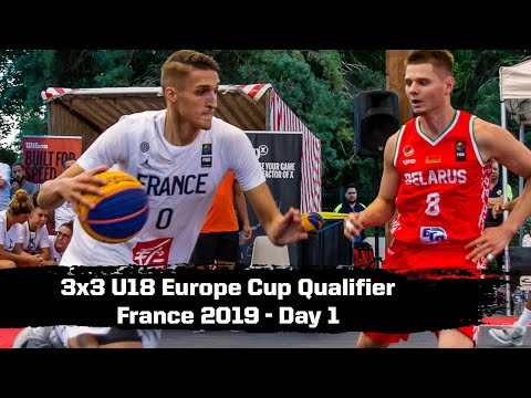 re-live---fiba-3x3-u18-europe-cup-qualifier-france-2019---day-1