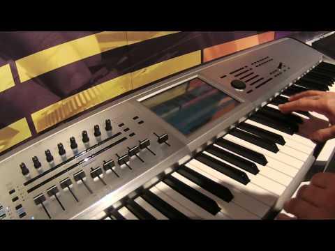 NAMM 2016 Korg Kronos Platinum Limited Edition
