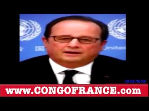 RDC: Francois Hollande très faché contre Joseph KABILA et remercie l'Opposition de TSHISEKEDI