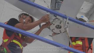 Waterline Big Fan - Thailand - HVLS (High Volume Low Speed) Industrial Fan - พัดลมยักษ์ พัดลมใหญ่