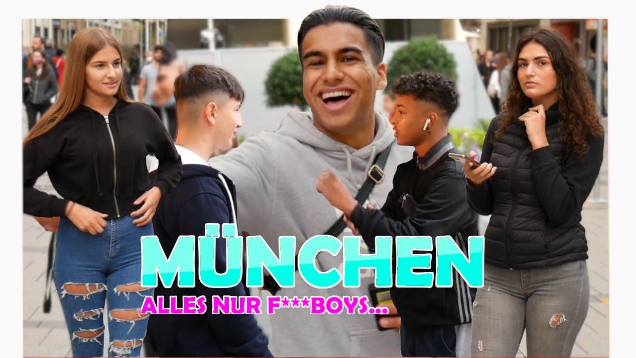 ALLE nur F***BOYS in MÜNCHEN| Streetcomedy in München