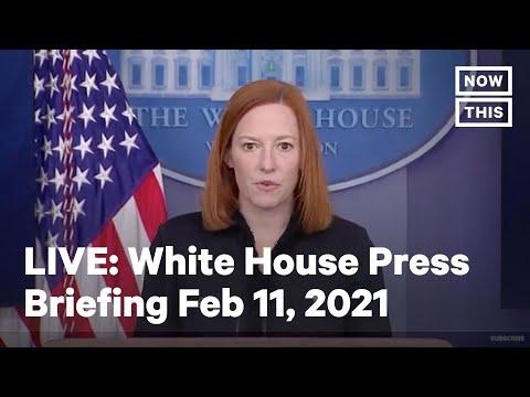 White House Press Secretary Holds a Press Briefing | LIVE