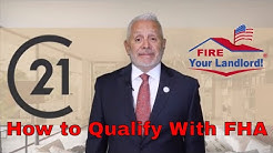 8 steps to buying a house with an FHA Loan  How to qualify with FHA