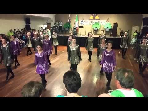 The Miller School of Dance on St. Patrick`s Day in Adelaide Irish Club 1