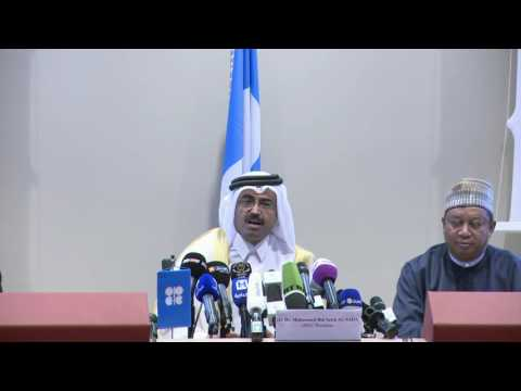 Press Conference - 170th (Extraordinary) OPEC Meeting