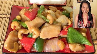 How To Make Cashew Chicken-Chinese Food Recipes-Stir Fry