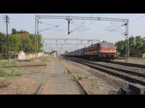 Patna-Indore. Express Blasting through Khalispur